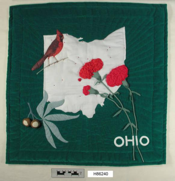 Lois K. Ide State of Ohio Quilt