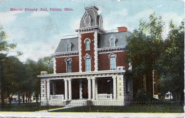 Mercer County Jail Postcard