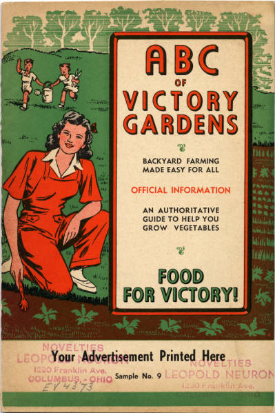 ABC of Victory Gardens Pamphlet