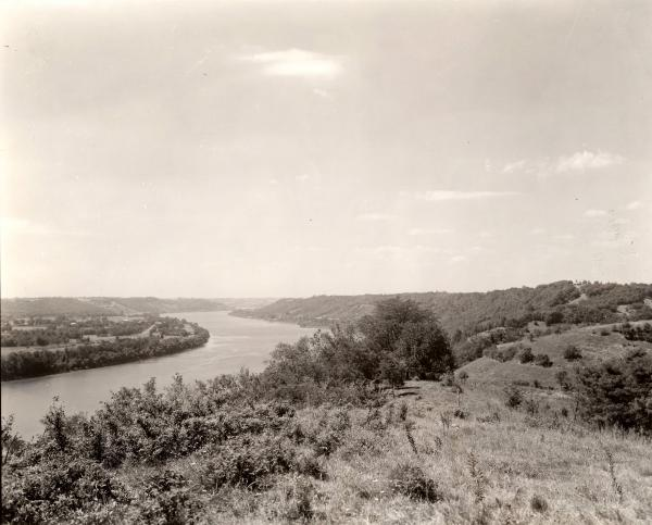 Ohio River as seen from Rankin House photograph