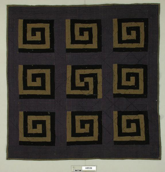 Pieced Square in a Square Quilt