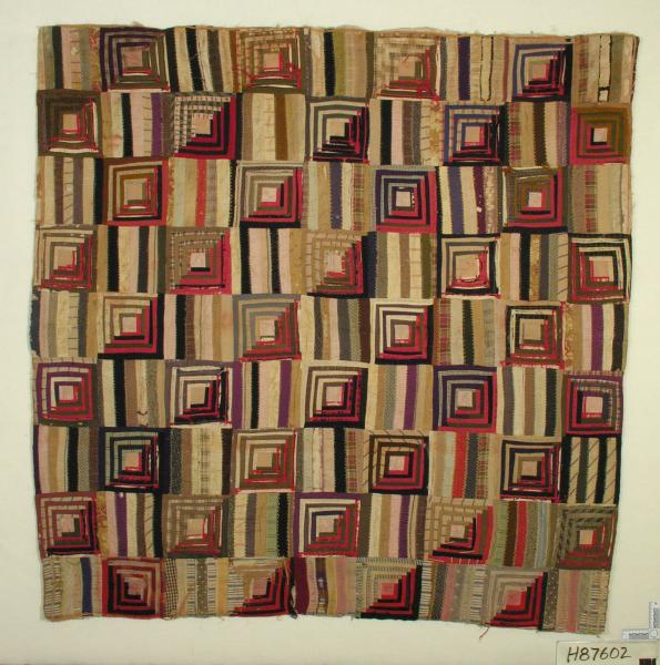 Pieced Square-in-a-Square Comforter