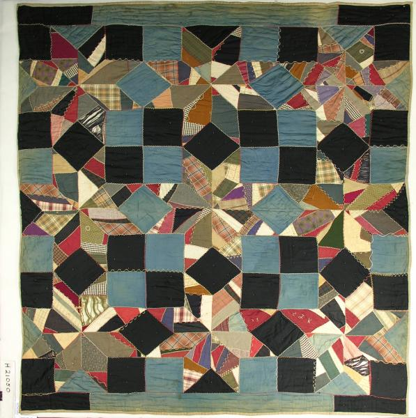 Pieced Eight Pointed Crazy Star Comforter
