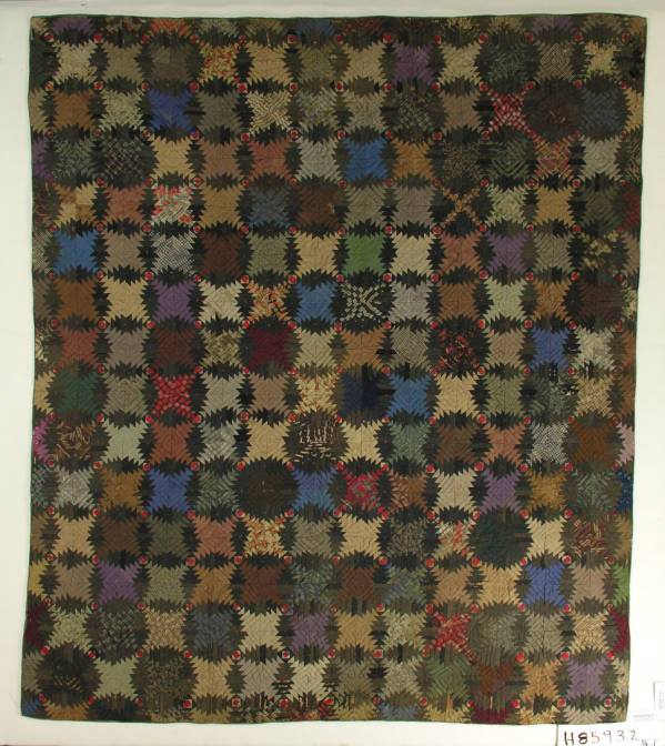 Pieced Square-in-a-Square Quilt