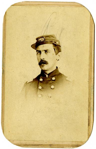 Unidentified Union Officer photograph