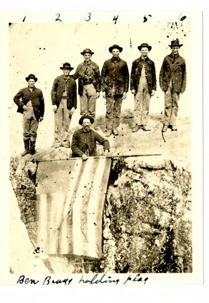 Union soldiers on Lookout Mountain photograph