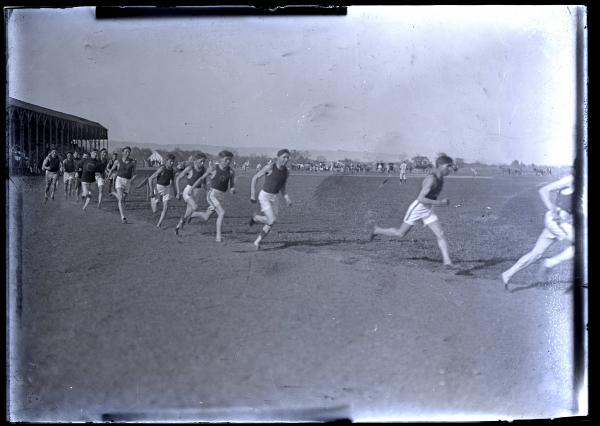 Jim Thorpe in track meet running event