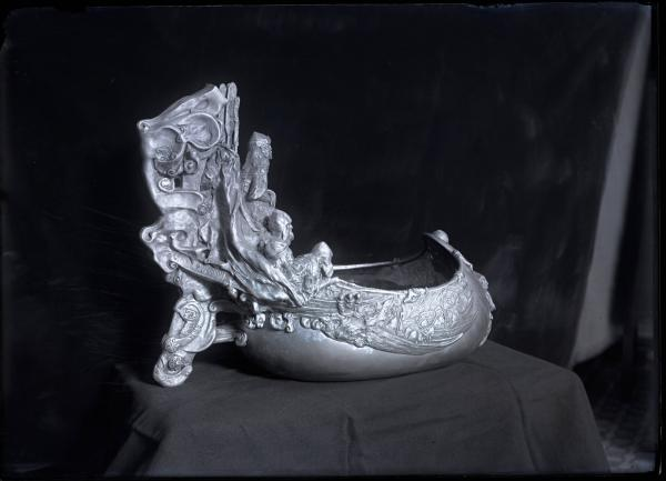 Jim Thorpe silver Viking ship