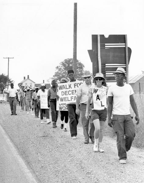 Welfare rights march