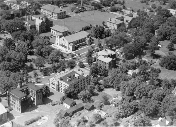 Oberlin College Aerial View