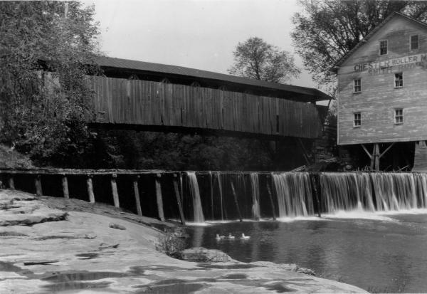 Covered Bridge in Meigs County