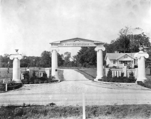 Fort St. Clair Entrance