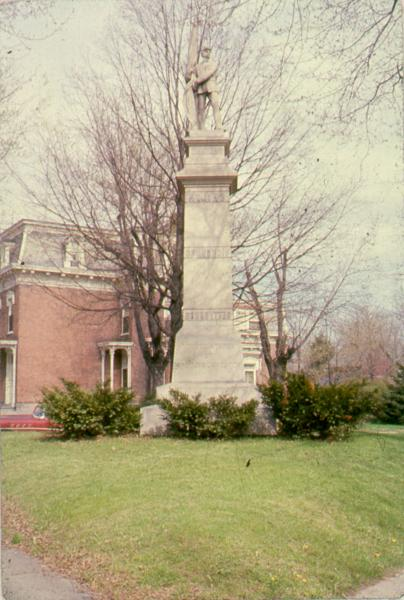 Soldier's Monument at Fort Ball photograph