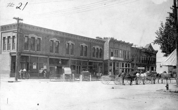 State Street in Milford Center photograph