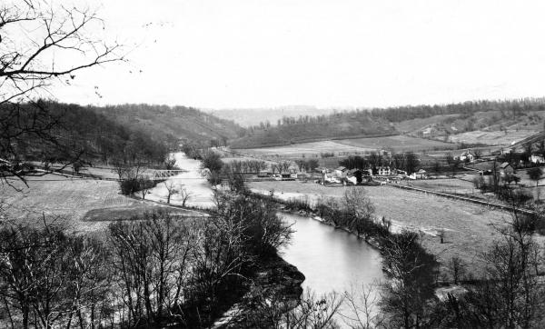 Miami Valley from Fort Ancient photograph
