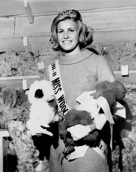 Miss Wool at the Ohio State Fair