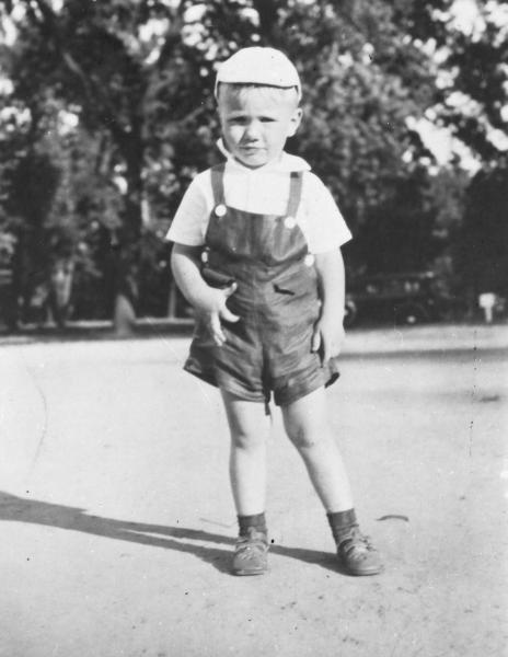 Neil Armstrong as a child