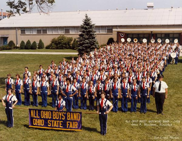 All Ohio Boy's Marching Band