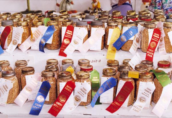Ohio State Fair Award Winning Canned Goods