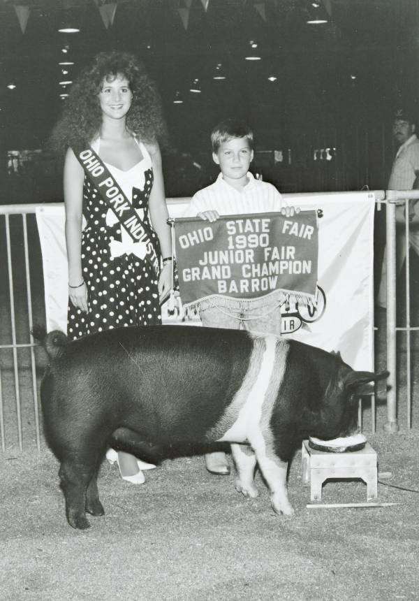 Ohio State Fair Grand Champion Barrow
