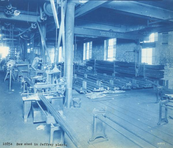 Ohio Malleable Iron Company Saw Shed