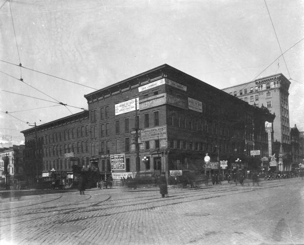 High and Broad Street intersection in Columbus photograph