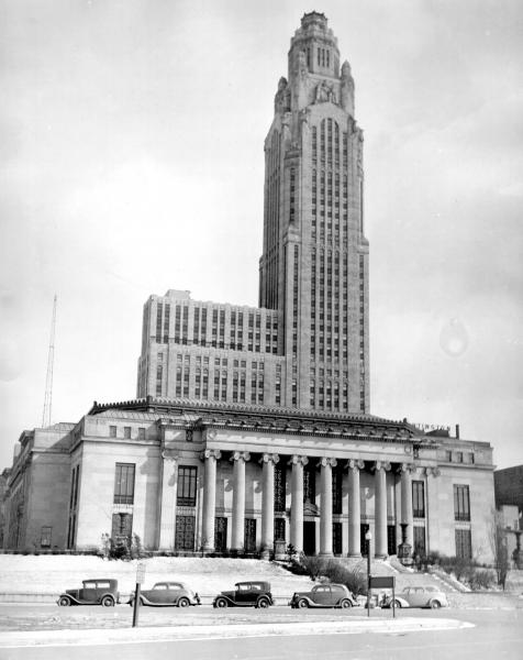 Columbus City Hall and LeVeque Tower