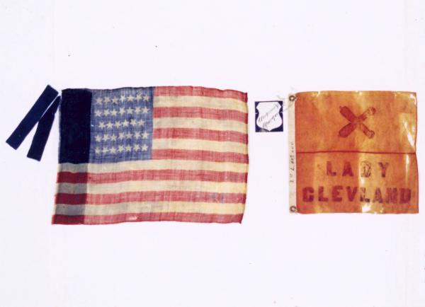 Flank Marker and Guidon of the 1st O.V.L.A.