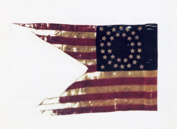 Guidon of the 1st O.V.L.A., Battery C