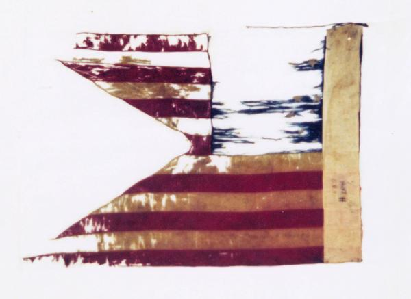 Guidon of the 1st O.V.L.A., Battery H
