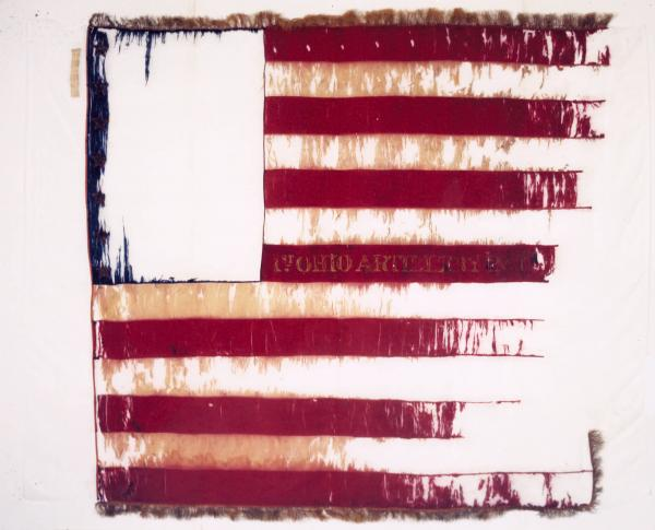 National Colors of the 1st O.V.L.A., Battery A