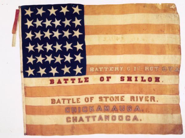 National Colors of the 1st O.V.L.A., Battery G