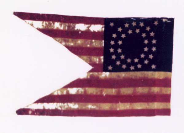 Guidon of the 13th O.V.C.