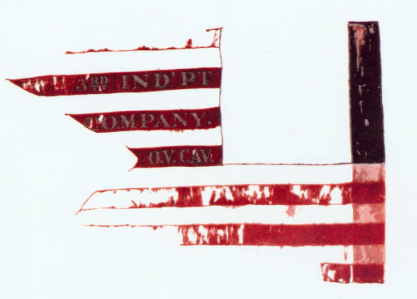 Guidon of the 3rd Independent Company, O.V.C.