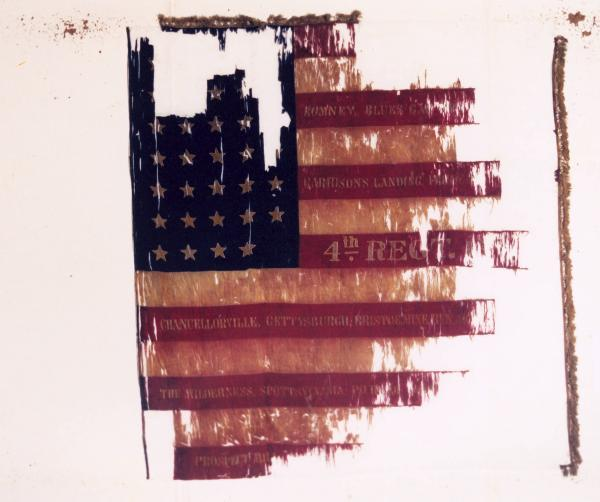 National Colors of the 4th O.V.I.