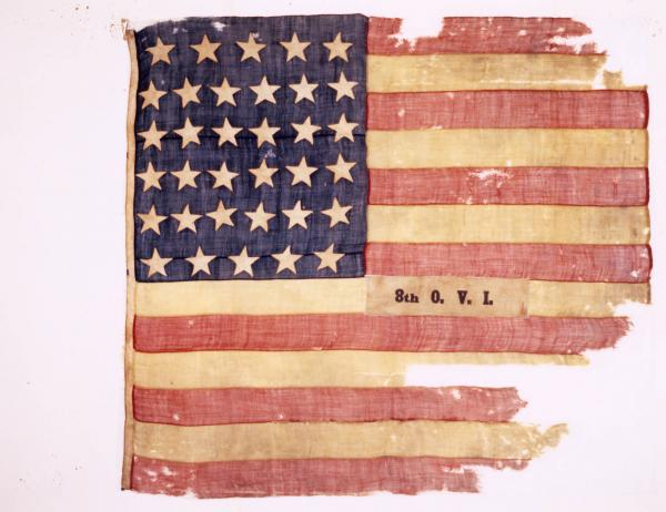 National Colors of the 8th O.V.I.
