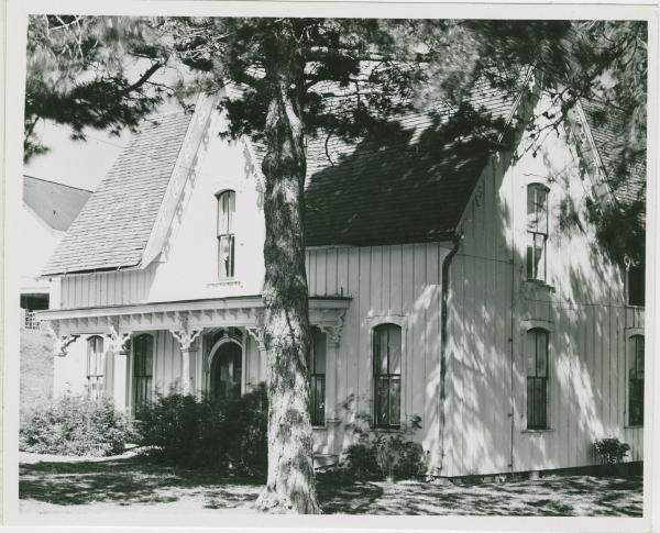 Gothic Revival home photograph
