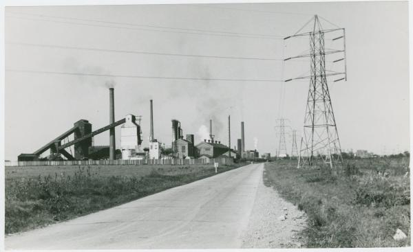 Republic Steel plant in Warren, Ohio