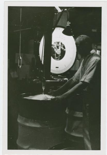 Factory worker photograph