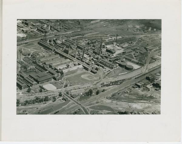 Aerial view of Ivorydale facility of Procter & Gamble