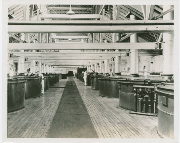 Factory work at Ivorydale plant
