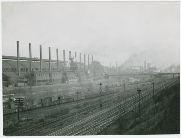 Factory in the Mahoning Valley in Youngstown, Ohio