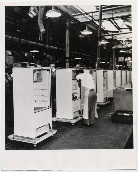 Refrigerator Assembly at Westinghouse Electric Company