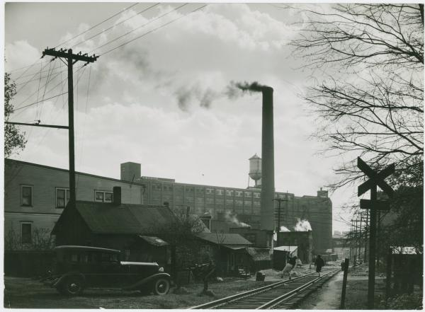 External view of Miller Rubber Company