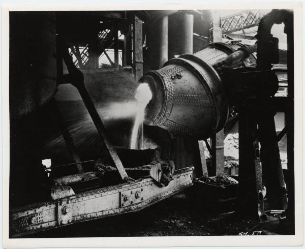 Youngstown Sheet and Tube interior photograph