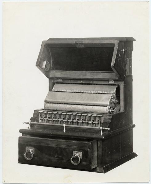 First National Cash register opened