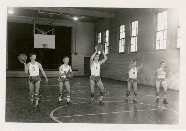 Brilliant High School basketball photograph