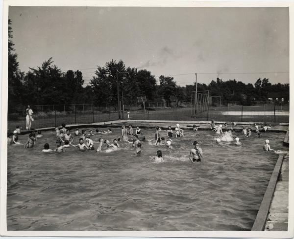 Swimming at Norwalk Pool
