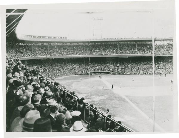 Baseball game photograph