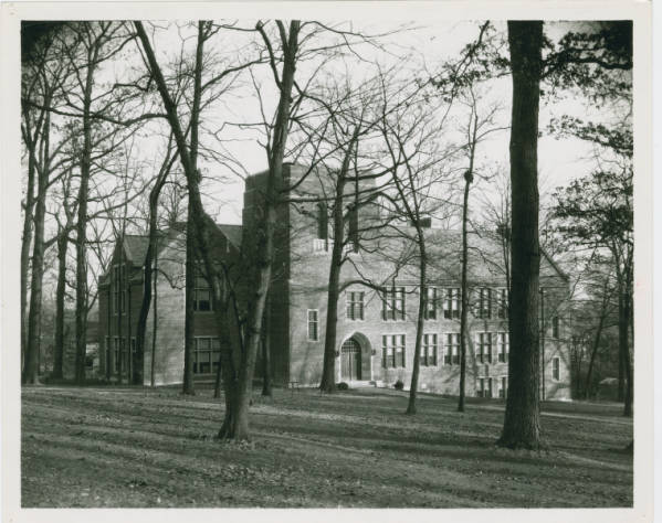 Blair Hall at Wittenberg College photograph